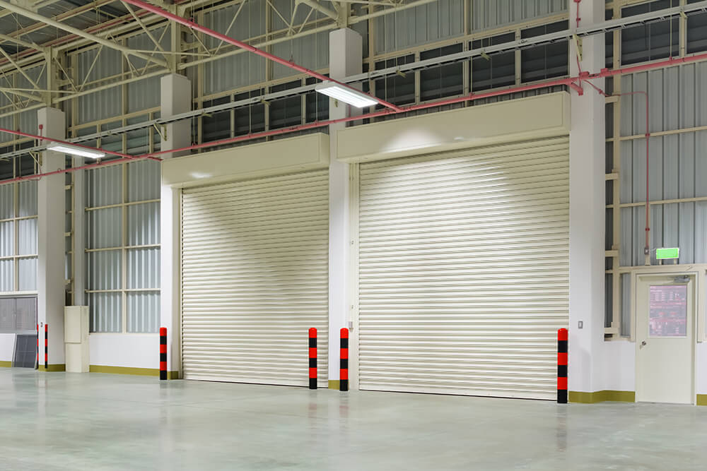 Automated roller shutters