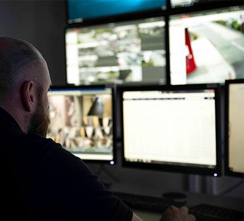 CCTV-monitoring