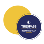 Trespass response team badge